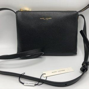 NWT M0013555 Marc Jacobs Leather Crossbody Bag